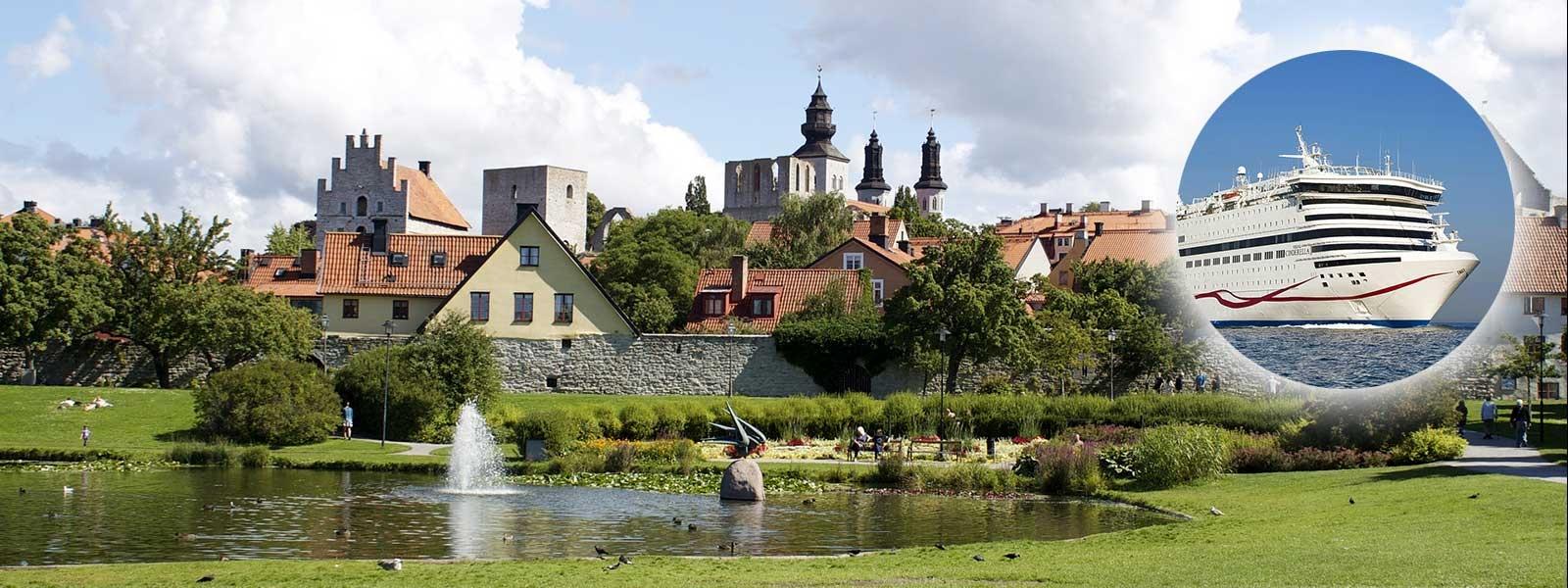 Kryssning till Visby med Cinderella
