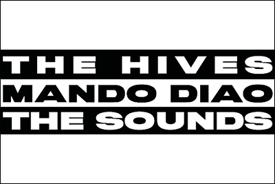 Mando Diao, The Hives & The Sounds på Dalhalla